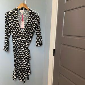NWT Julie Brown Wrap Dress - Medium